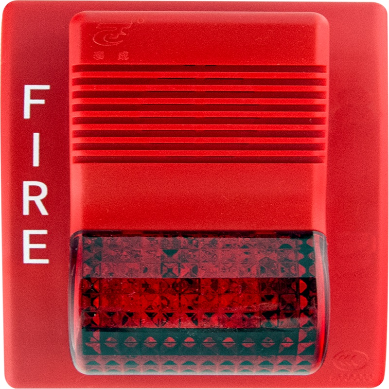Horn strobe flash and sounder fire alarm siren LPCB fire alarm