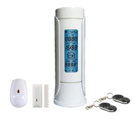 TCP/IP Home Alarm GSM Burglar Security Control Panel Desk type