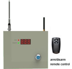 2G GPRS or TCP/IP alarm control panel with home security app