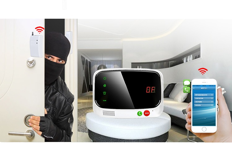 Alarm Smart phone program and control entire alarm system