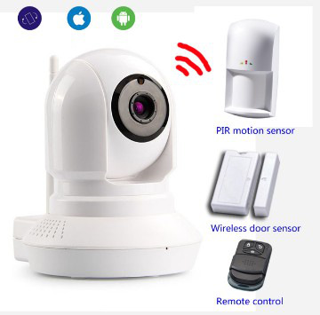 Surveillance Home Security System IP Video Alarm