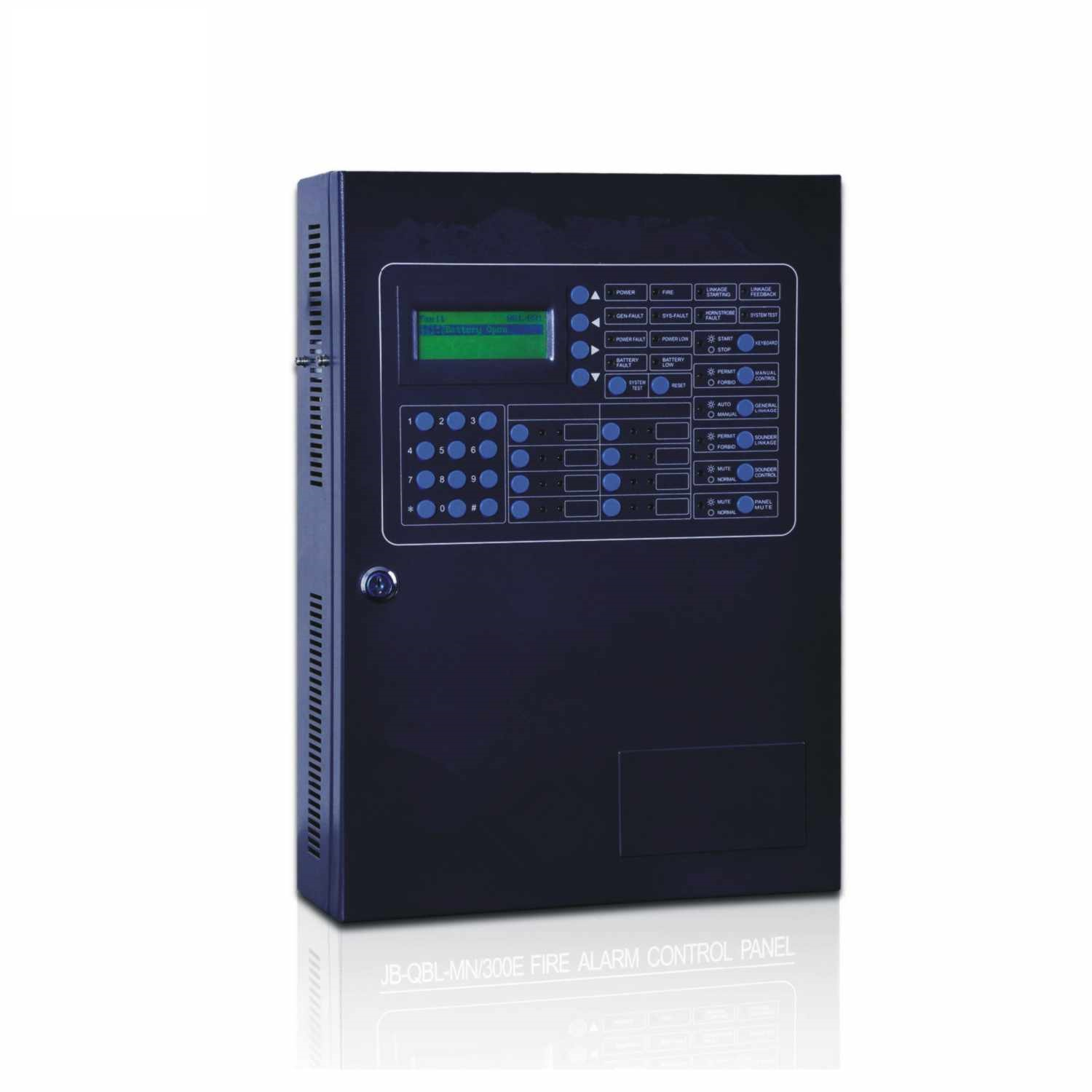 Fire Alarm Control Panel MN300E 100 point addressable fire safe