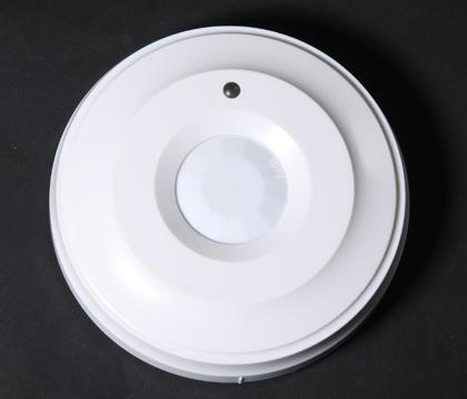 Ceiling mounted PIR detector Wired connection