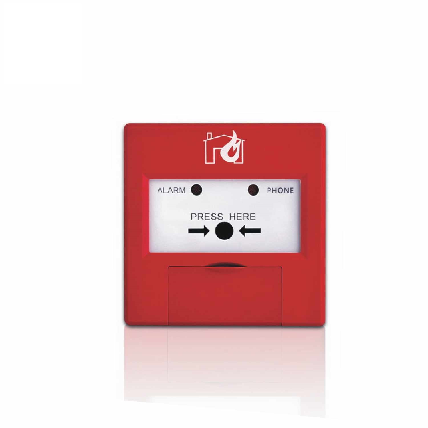Fire call point addressable fire alarm system emergency box