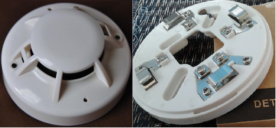 2-wire Smoke and Heat Detector Conventional Fire alarm system