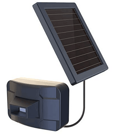 Detector PIR outdoor pool orchard guard solar power wireless